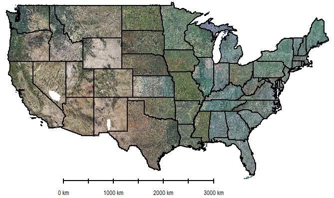 High Resolution Vegetation Mapping USA BigData Earth - Us vegetation map