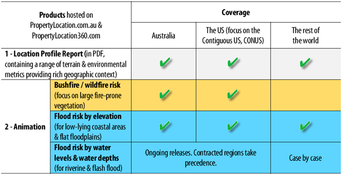 Visualising Potential Bushfire Risk For Addresses In Australia A - Elevation level by address
