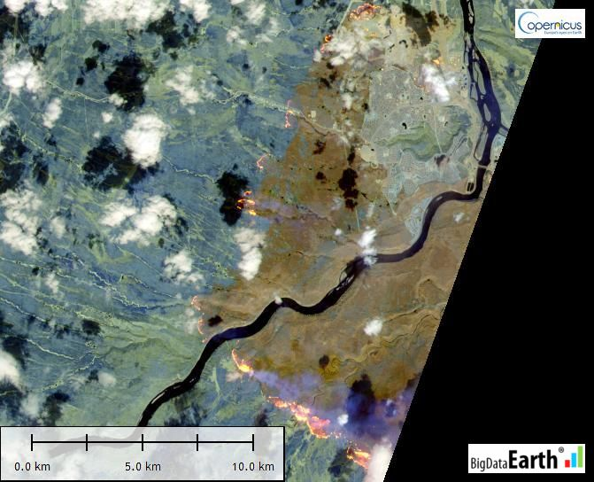 Earth Observation and Image Processing - BigData Earth