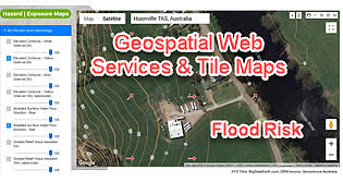 Two Additional Tools to Advance Flood Risk Analytics at Scale in