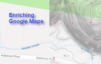 New Tile Maps On Terrain And Hydrology Part 1 Enriching Google